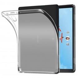 Kieto silikono (TPU) dėklas - skaidrus (Tab P10)