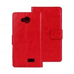 Atverčiamas dėklas - raudonas (F60)