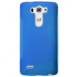"""S-Line"" kieto silikono (TPU) dėklas - mėlynas (G3 S)"