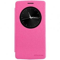 """""""Nillkin"""" Sparkle atverčiamas dėklas - rožinis (G3 S)"""