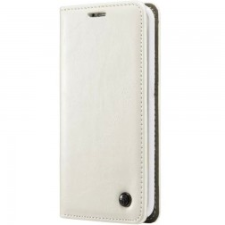 """""""CaseMe"""" solidus atverčiamas dėklas - baltas (G5 / G5 SE)"""