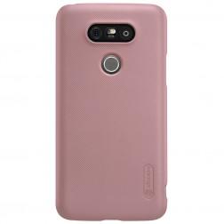"""""""Nillkin"""" Frosted Shield dėklas - rožinis + apsauginė ekrano plėvelė (G5 / G5 SE)"""