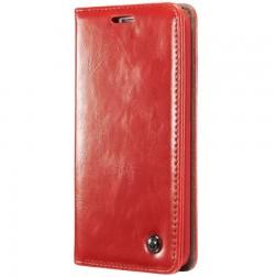 """""""CaseMe"""" solidus atverčiamas dėklas - raudonas (G5 / G5 SE)"""
