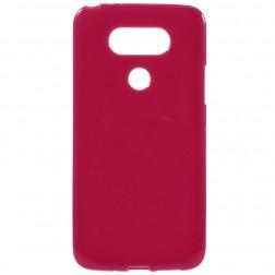 Kieto silikono (TPU) dėklas - raudonas (G5 / G5 SE)