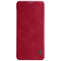 """""""Nillkin"""" Qin atverčiamas dėklas - raudonas (G7 ThinQ)"""