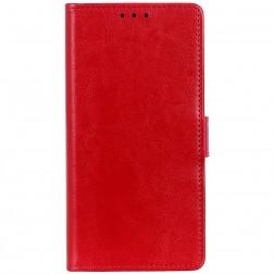 Atverčiamas dėklas, knygutė - raudonas (G8s Thinq)