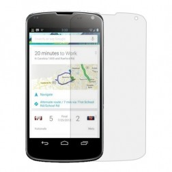 """""""GSW"""" apsauginė ekrano plėvelė - skaidri (Nexus 4)"""