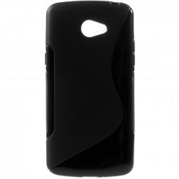 Kieto silikono (TPU) dėklas - juodas (K5)
