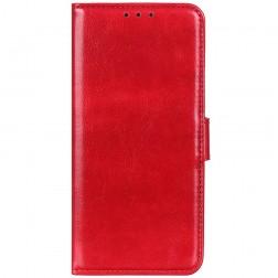 Atverčiamas dėklas, knygutė - raudonas (K50S)