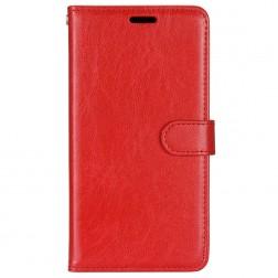 Atverčiamas dėklas, knygutė - raudonas (K51s)