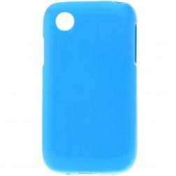 Kieto silikono matinis dėklas - mėlynas (L40)