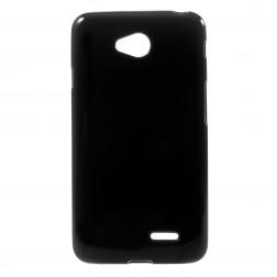 Kieto silikono (TPU) dėklas - juodas (L65)