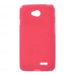 Kieto silikono (TPU) dėklas - raudonas (L65)