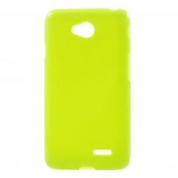 Kieto silikono (TPU) dėklas - žalias (L65)