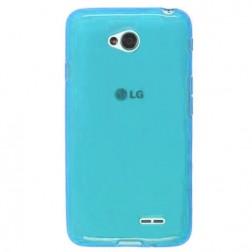 """""""Jelly Case"""" kieto silikono dėklas - šviesiai mėlynas (L70)"""