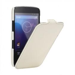 """""""Lychee"""" atverčiamas dėklas - baltas (Nexus 4)"""