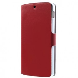 """""""Doormoon"""" atverčiamas dėklas - raudonas (Nexus 5)"""