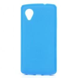 """""""Jelly Case"""" dėklas - mėlynas (Nexus 5)"""
