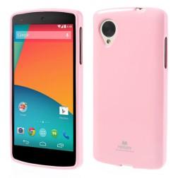 """""""Mercury"""" dėklas - rožinis (Nexus 5)"""