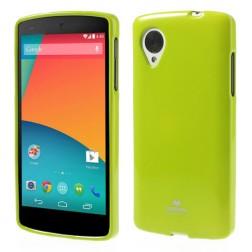 """""""Mercury"""" dėklas - žalias (Nexus 5)"""