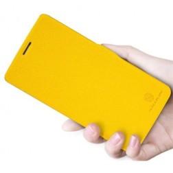 """""""Nillkin"""" Fresh atverčiamas dėklas - geltonas (Nexus 5)"""