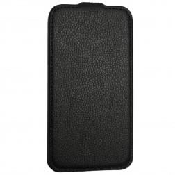 Vertikaliai atverčiamas dėklas - juodas (Nexus 5)