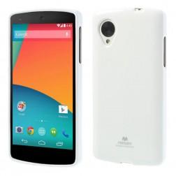"""""""Mercury"""" dėklas - baltas (Nexus 5)"""