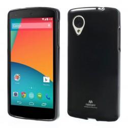 """""""Mercury"""" dėklas - juodas (Nexus 5)"""