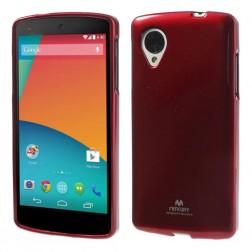 """""""Mercury"""" dėklas - raudonas (Nexus 5)"""