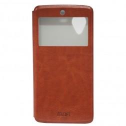 """""""Mofi"""" Rui odinis dėklas - rudas (Nexus 5)"""