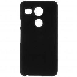 Plastikinis dėklas - juodas (Nexus 5X)
