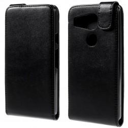 Klasikinis atverčiamas dėklas - juodas (Nexus 5X)