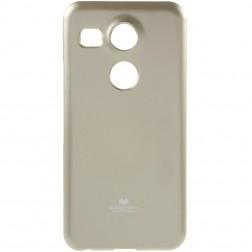 """""""Mercury"""" dėklas - auksinis (Nexus 5X)"""