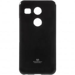 """""""Mercury"""" dėklas - juodas (Nexus 5X)"""