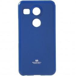 """""""Mercury"""" dėklas - mėlynas (Nexus 5X)"""