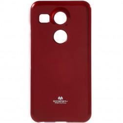 """""""Mercury"""" dėklas - raudonas (Nexus 5X)"""