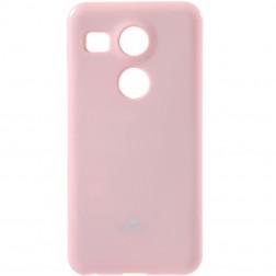 """""""Mercury"""" dėklas - šviesiai rožinis (Nexus 5X)"""