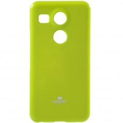 """""""Mercury"""" dėklas - žalias (Nexus 5X)"""