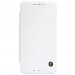"""""""Nillkin"""" Qin atverčiamas dėklas - baltas (Nexus 5X)"""