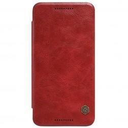 """""""Nillkin"""" Qin atverčiamas dėklas - raudonas (Nexus 5X)"""