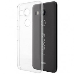 Plastikinis dėklas - skaidrus (Nexus 5X)