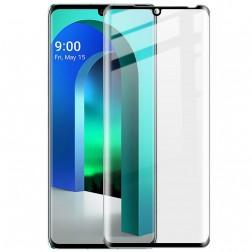 """""""Imak"""" Tempered Glass pilnai dengiantis apsauginis ekrano stiklas 0.2 mm - juodas (Velvet)"""