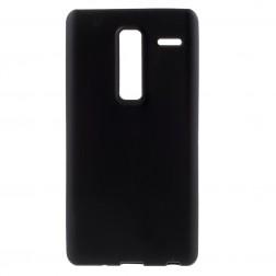 Kieto silikono (TPU) dėklas - juodas (Zero)