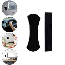 """""""Fixate"""" silikoninis lipnių kilimėlių komplektas - juodas"""