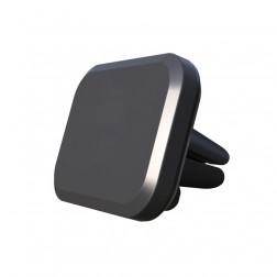 Magnetinis automobilinis telefono laikiklis (į groteles) - juodas