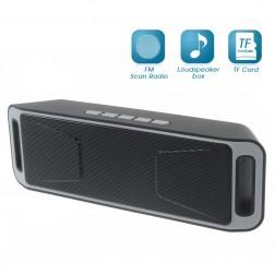 """""""A2DP"""" Stereo nešiojama belaidė garso kolonėlė - juoda"""