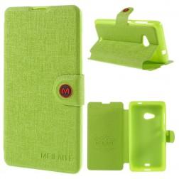 """""""Meilate"""" atverčiamas dėklas - žalias (Lumia 535)"""