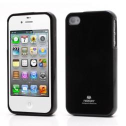 """""""Mercury"""" dėklas - juodas (iPhone 4 / 4S)"""