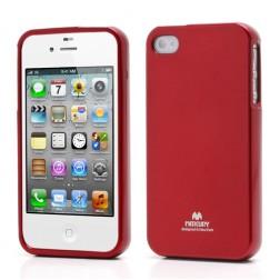 """""""Mercury"""" dėklas - raudonas (iPhone 4 / 4S)"""