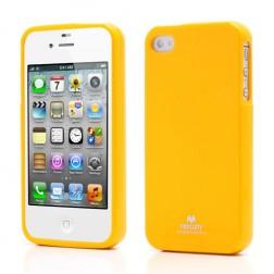 """""""Mercury"""" dėklas - geltonas (iPhone 4 / 4S)"""